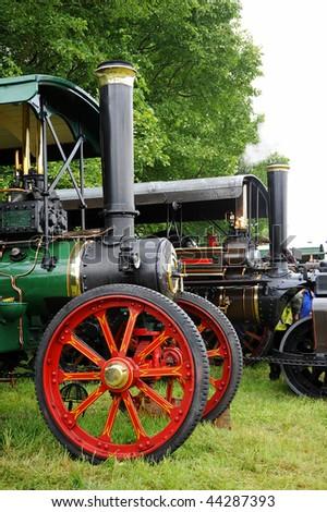 Traction Engine - stock photo