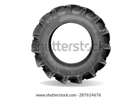 how to put on a tractor tire