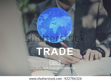 Trade Barter Commerce Exchange Merchandise Concept