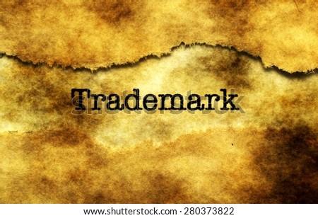 Trademark - stock photo