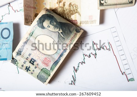 trading background concept - stock photo