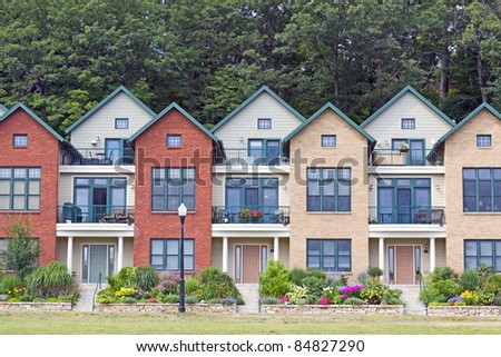 Modern Village Stock Photos Images Pictures Shutterstock