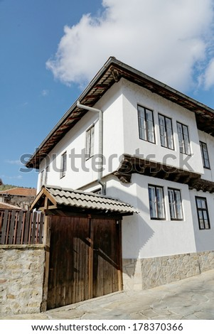 Traditional Bulgarian style home in Tryavna, Bulgaria