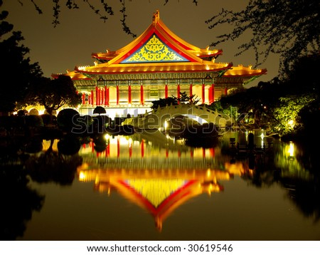Traditional chinese architecture - stock photo