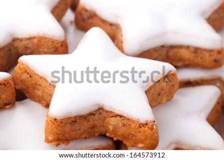Traditional cinnamon cookies  - stock photo