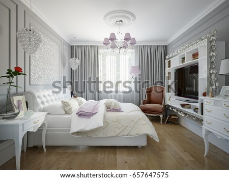 modern traditional bedroom traditional classic modern bedroom interior design stock 12637