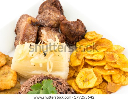 Yukka stock images royalty free images vectors for Authentic cuban cuisine