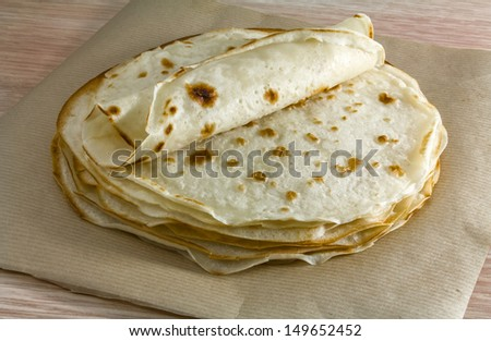 traditional food, piadina romagnola, piada