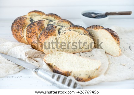Traditional fresh bread Challah