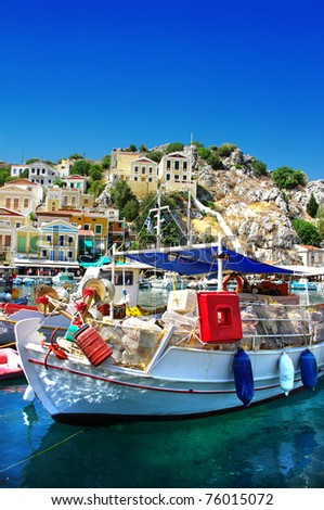 traditional Greece - Symi island