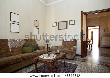 traditional home - stock photo