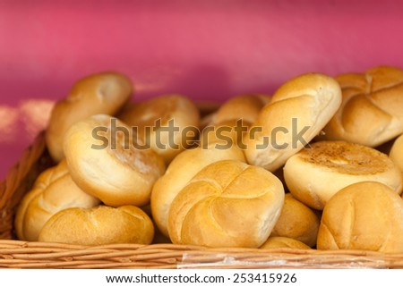Traditional pastries at street vendor in Vienna, Austria - stock photo