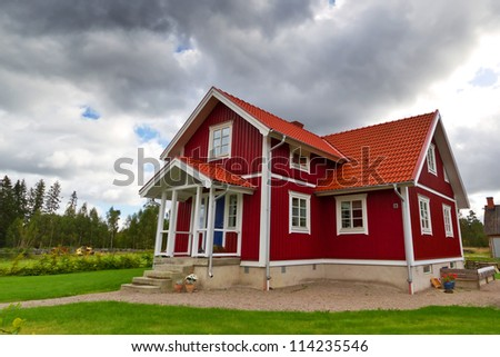 Scandinavian Houses scandinavian house stock images, royalty-free images & vectors