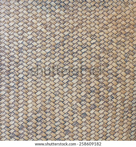 traditional thai style pattern nature background of brown handicraft weave texture wicker surface for furniture material Image ID: 170824223 - stock photo