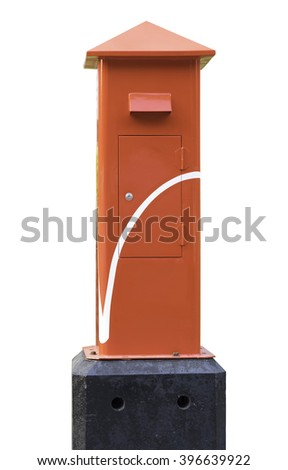 Traditional Thailand Post Box. - stock photo