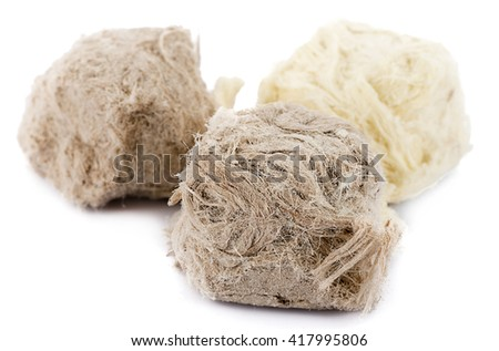 Traditional Turkish dessert with a tenture similar to cotton candy close up.  - stock photo