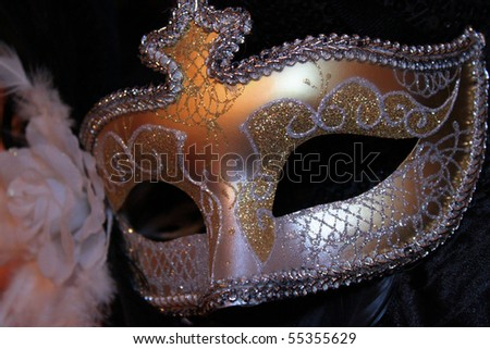 Traditional Venice Carnival mask
