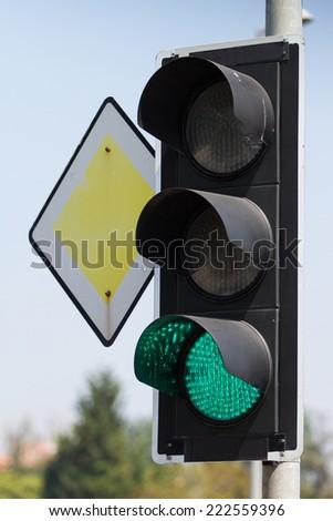 Traffic Lights - stock photo
