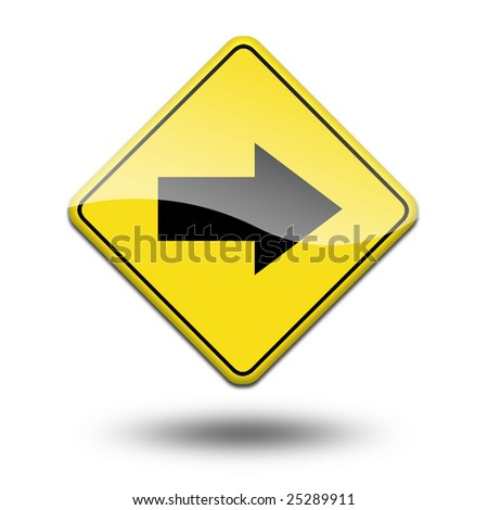 traffic signal on a white background - stock photo