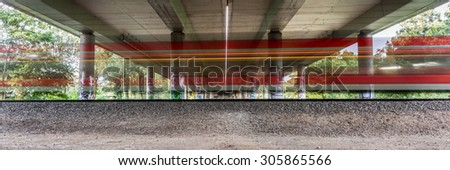 train faster - stock photo
