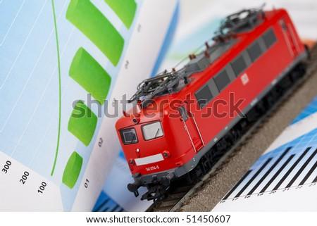 Train Model - stock photo