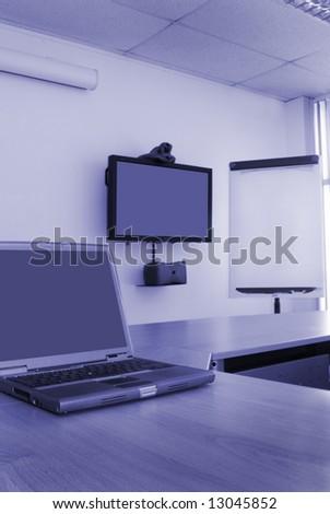 Training Room - stock photo
