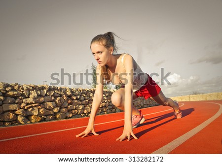 Training time - stock photo