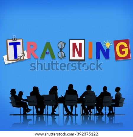 Training Workshop Development Learning Education Concept  - stock photo