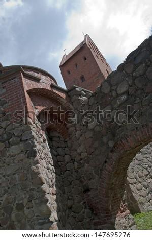 Trakai Castle - stock photo