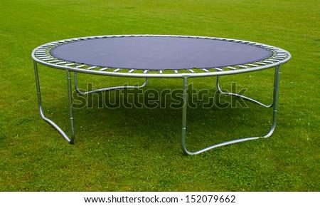 trampoline - stock photo