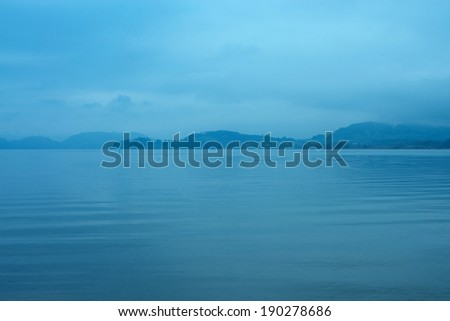 Tranquil landscape - stock photo