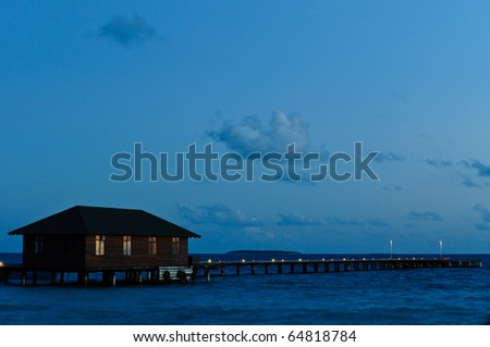 Tranquil Night - stock photo