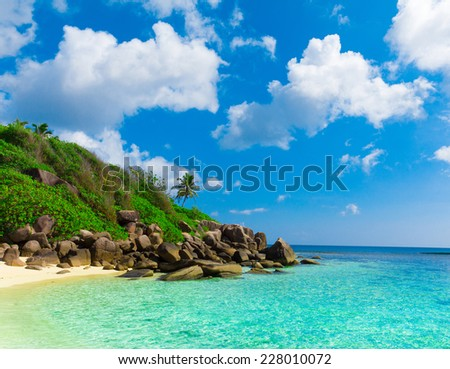 Tranquility Dream Landscape  - stock photo