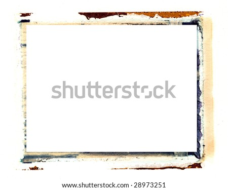 transfer photo border - stock photo