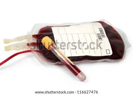 transfusion bloody-donate - stock photo