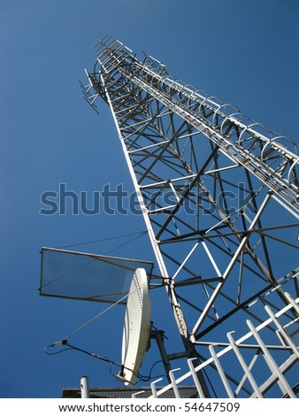 transmitter and receiver antenna telecommunications for various purposes