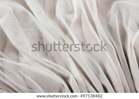 transparent chiffon tulle fabric textured pattern