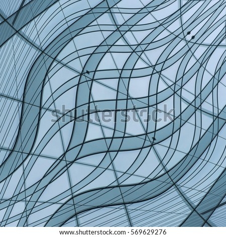Curvilinear stock images royalty free images vectors for Linear organization in architecture