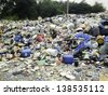 trash dump - stock photo
