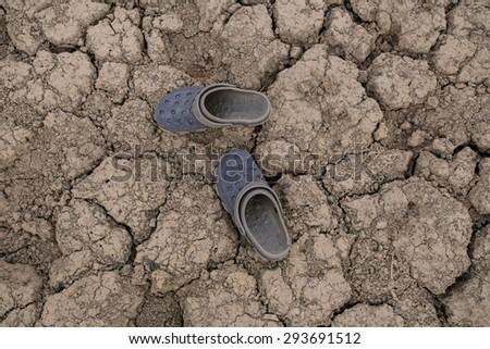 Travel arid areas - stock photo
