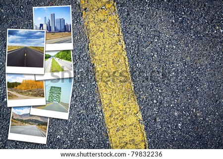 Travel Background - stock photo