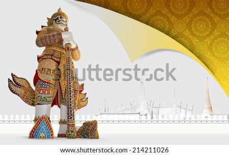 Travel concept, THAILAND - stock photo