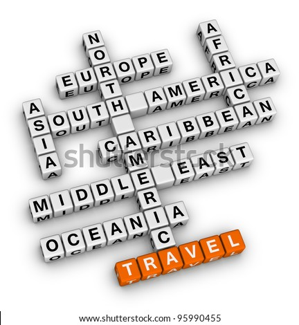 travel direction crossword