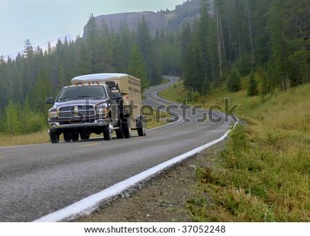 Travel Driving - stock photo