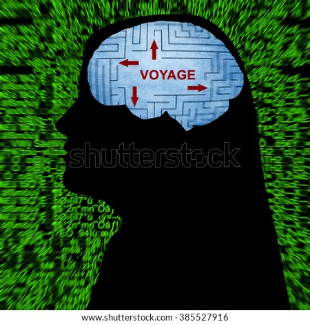Travel in mind - stock photo