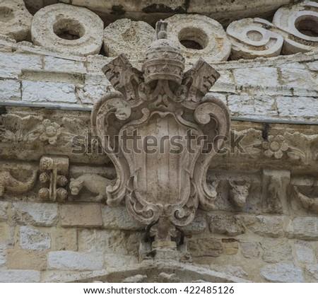 Travel into Umbria - Italy - stock photo