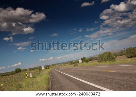 traveling Arizona, USA - stock photo