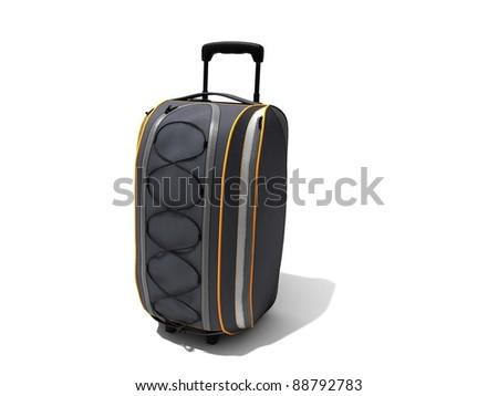 Traveling bag - stock photo