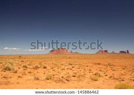 traveling the West - stock photo