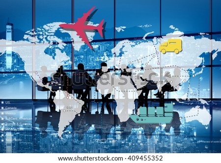 Traveling Trip Journey International Destination Concept